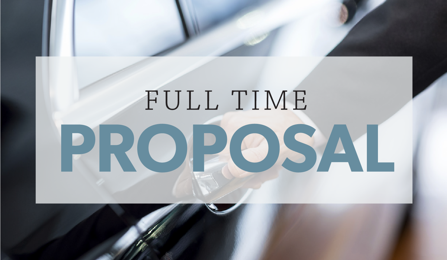 Full Time Proposal