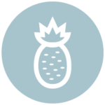 pineapple icon representing hospitality